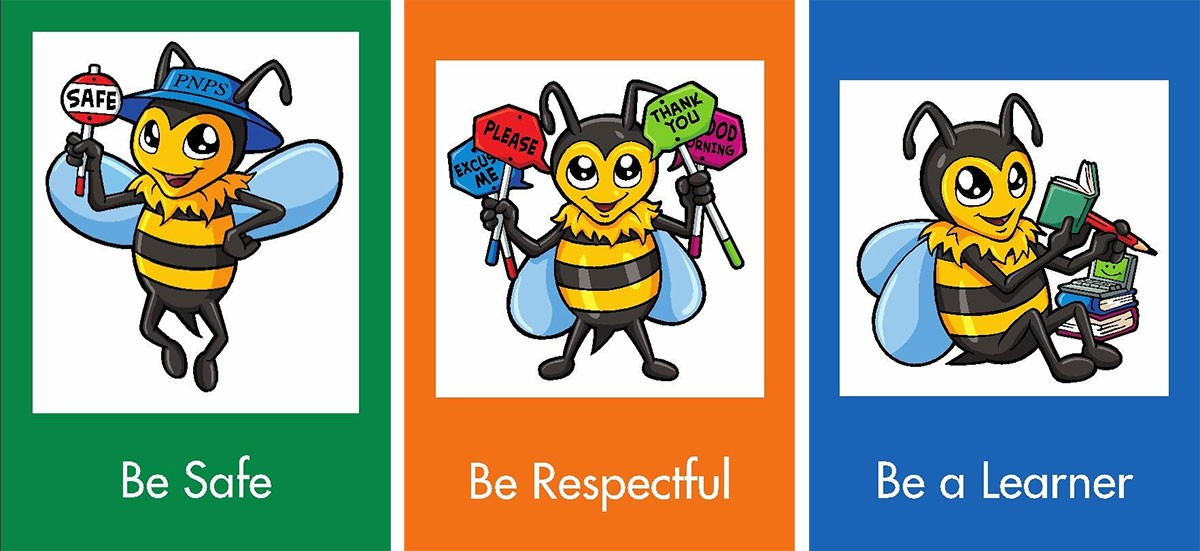 Be safe, be respectful, be a learner